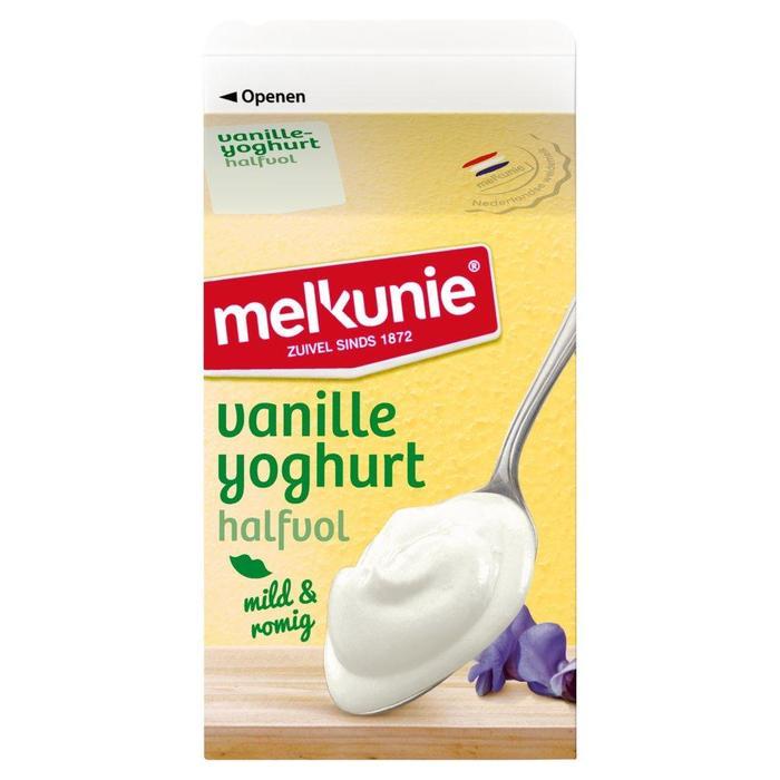 Vanille yoghurt halfvol (Stuk, 0.5L)