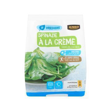 Jumbo Spinazie à la Crème Deelblokjes Vriesvers 450 g (450g)