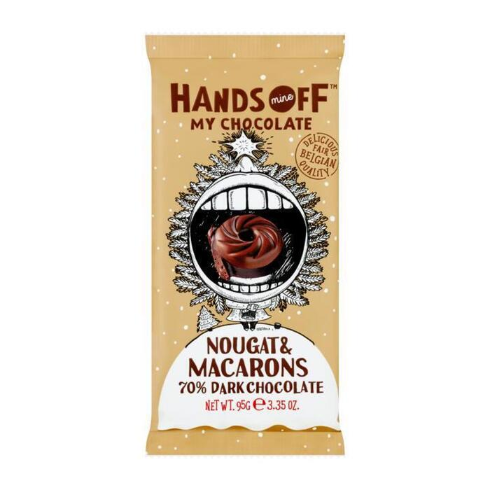 Hands off my chocola Caramelised nutty brownie (95g)