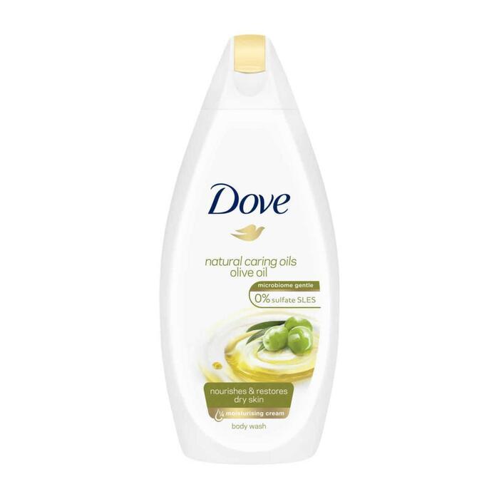Dove Natural Caring Oils Olive Oil Douchecrème 500 ml (0.5L)