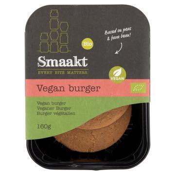 Smaakt Vegan Burger 2 x 80g (2 × 80g)