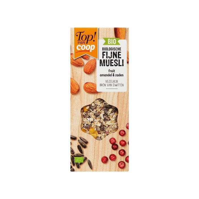 Top! Van Coop Fijne muesli amandel & zaden (350g)