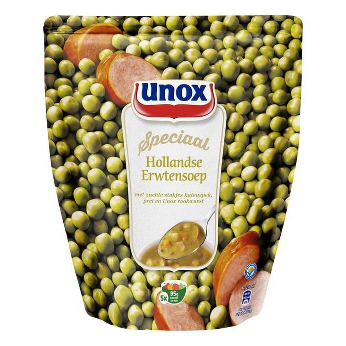 Unox Soep in Zak Erwtensoep 4 Porties 1,2 l (1.2L)