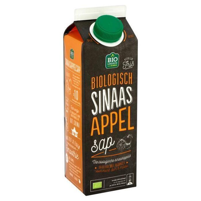 Biologisch sinaasappelsap (pak, 1L)
