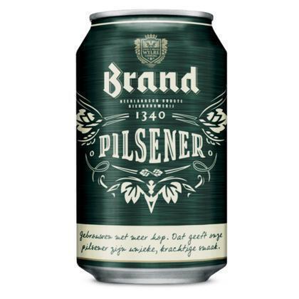 Brand Premium Pilsener (rol, 33 × 33cl)
