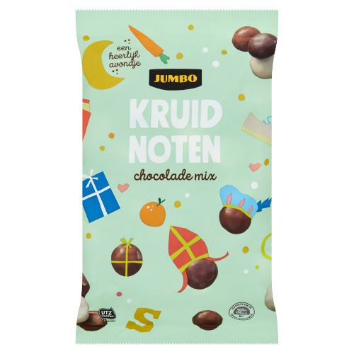 Jumbo chocolade kruidnoten mix 300g (300g)