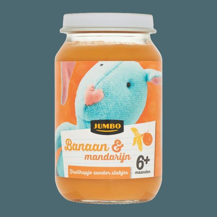 Jumbo Banaan & Mandarijn 6+ Maanden 200g (200g)