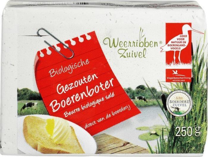 Boeren gezouten boter (250g)
