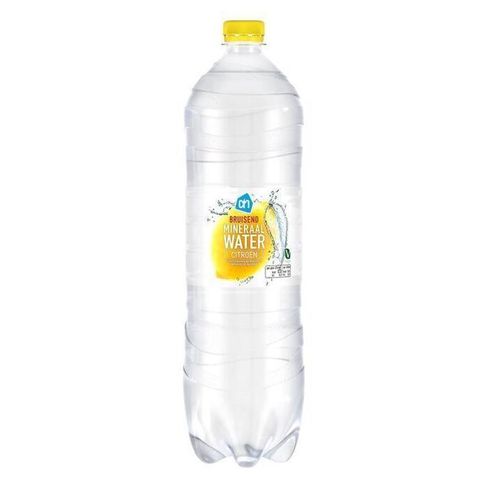 Bruisend mineraalwater citroen (pet fles, 1.5L)