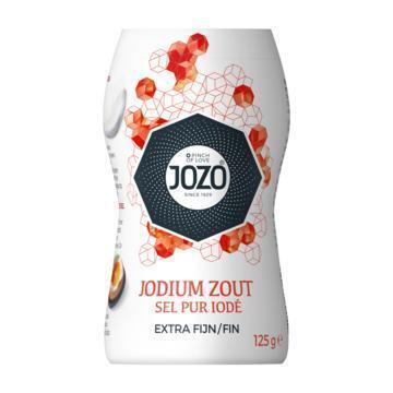 Tafelzout met Jodium (flacon, 125g)