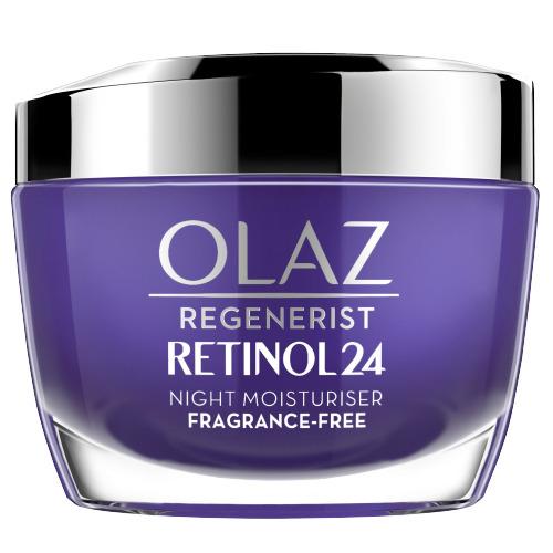 Olaz Retinol24 Hydraterende Nachtcrème Met Retinol En Vitamine B3 50ml