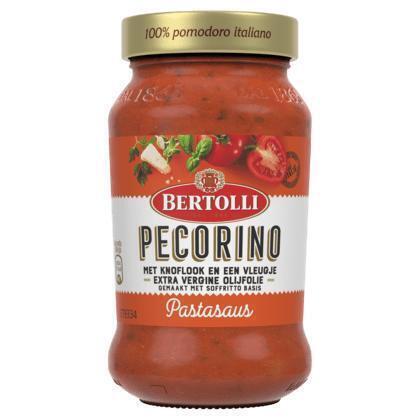Pastasaus Pecorino knoflook (400g)