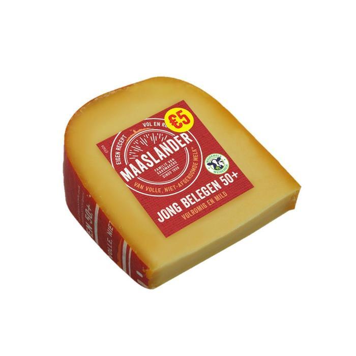 Maaslander 50+ Jong Belegen stuk 425 gram (425g)