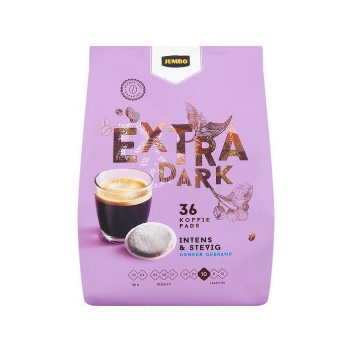 Jumbo Extra Dark 36 Koffie Pads 250 g (250g)