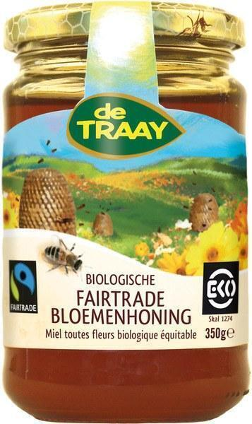 Fairtrade bloemenhoning (350g)