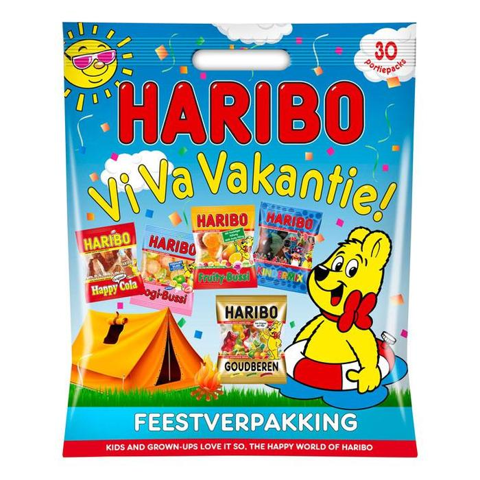 Haribo Happy holiday party pack (489g)