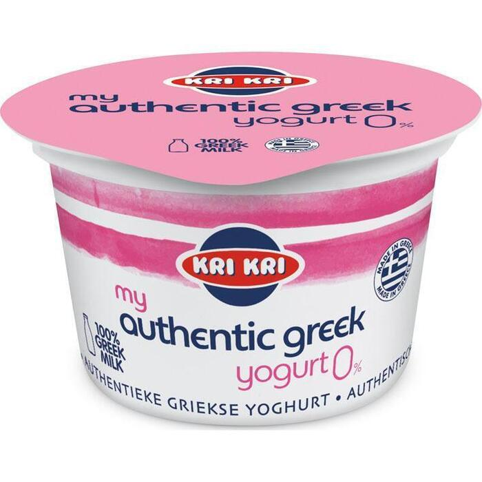 Yogood Originele Griekse yoghurt 0% vet (bak, 170g)