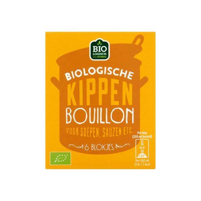 Jumbo Biologische Kippenbouillon 6 Stuks 60g (60g)