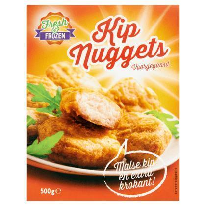 Kipnugget tempura (fresh & frozen) 500gr (500g)