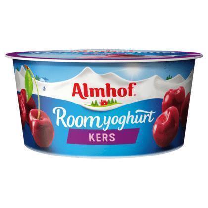 Roomyoghurt morello kers (bak, 150g)