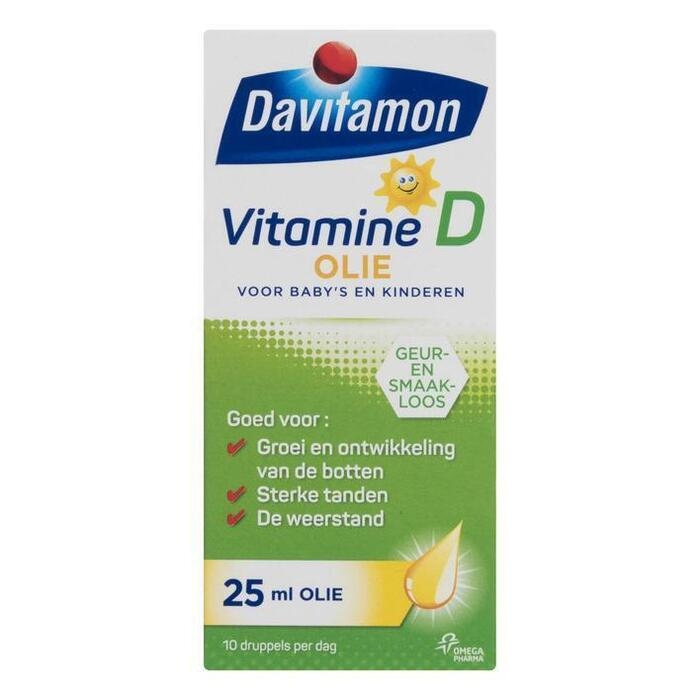 Vitamine D olie (25ml)
