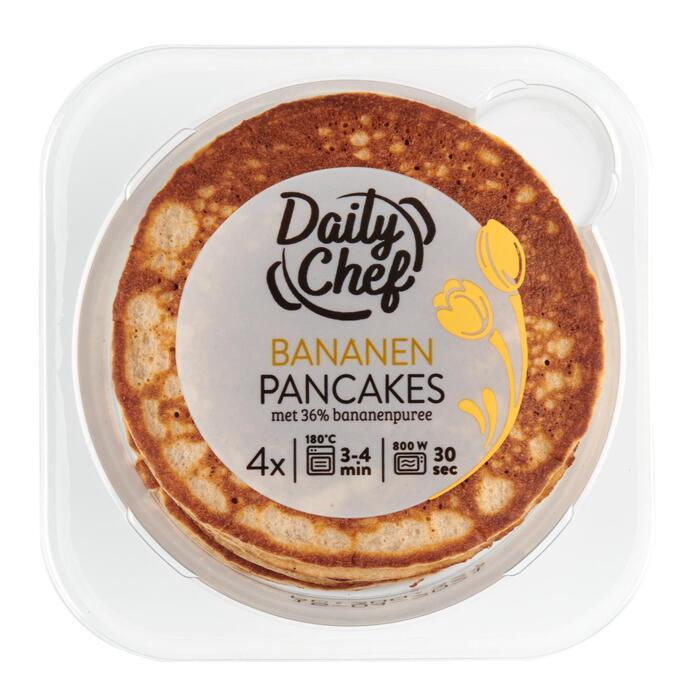 Pancake banaan 4 stuks (160g)