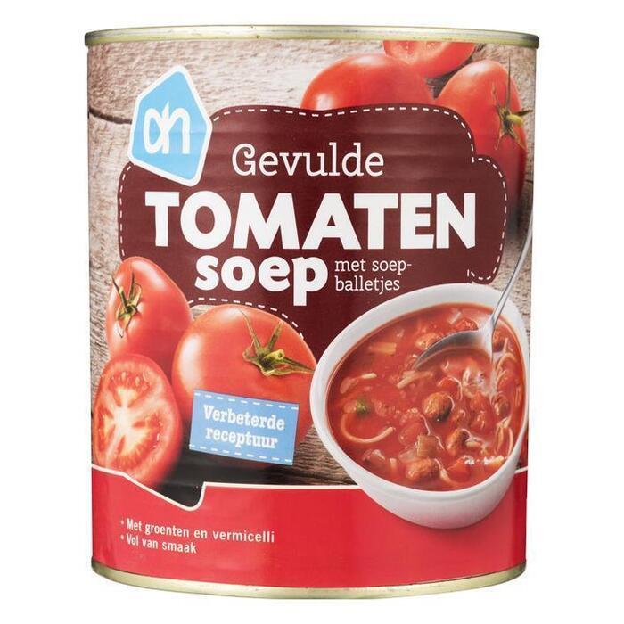 Rijkgevulde tomatensoep (blik, 0.8L)
