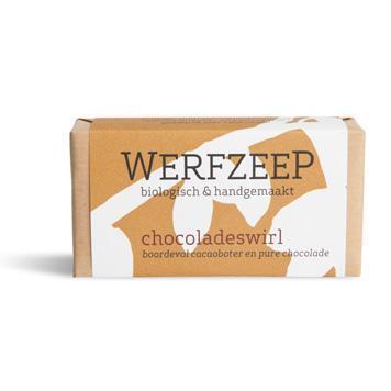 Chocoladeswirl zeep (100g)
