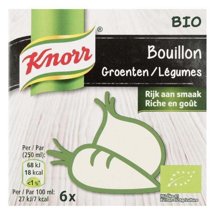 Bio Bouillon Groenten (Stuk, 6 × 66g)