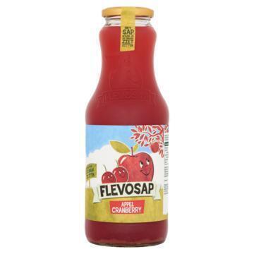 Flevosap Appel Cranberry 1 l Fles (1L)