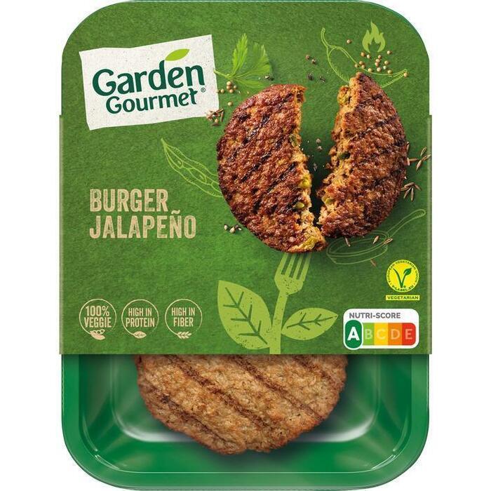 Garden Gourmet Jalapeno burger (2 × 108g)