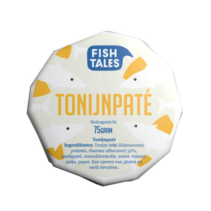 Fish Tales Tonijn pate olijfolie msc (75g)
