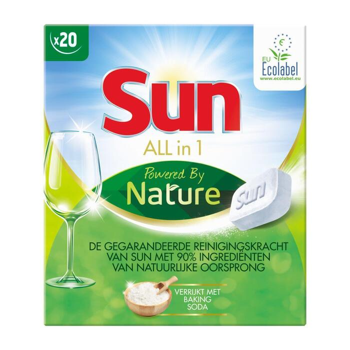 Sun All-in-1 powered by nature (20 × 400g)