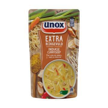 Unox Soep in zak Indiase currysoep (0.57L)