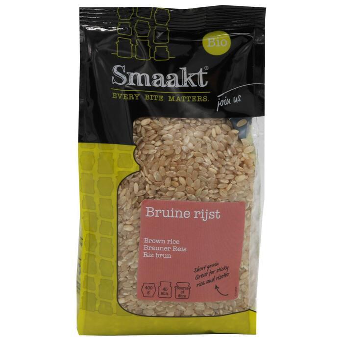 Smaakt Bruine rijst 400 g stazak (400g)