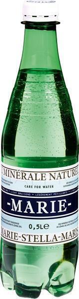 Mineraalwater met koolzuur (0.5L)