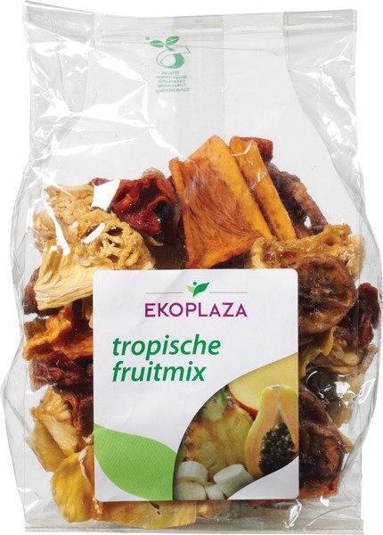 Tropische fruitmix gedroogd (zak, 150g)