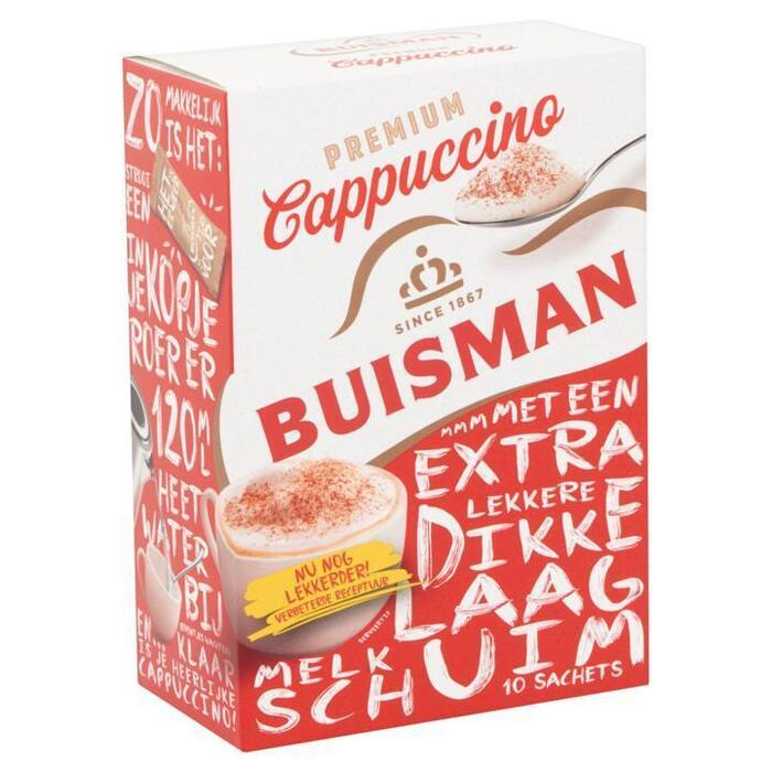 Premium Cappuccino (doos, 10 × 125g)