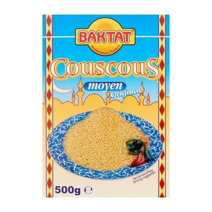Baktat Snelkokende Couscous van Harde Tarwegriesmeel 500 g (Stuk, 500g)