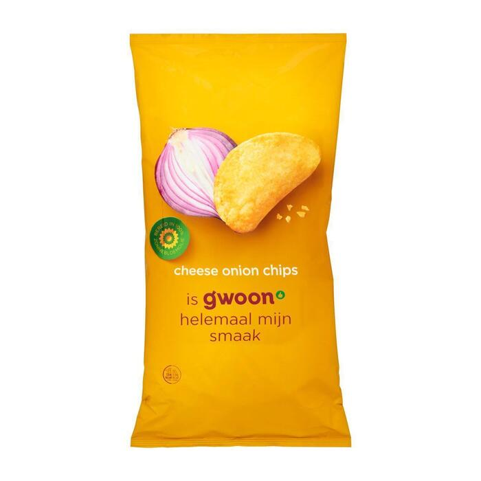 g'woon Chips Cheese Onion 225 g (225g)