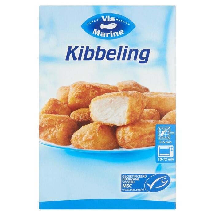 Kibbeling, MSC (doos 350g) (350g)