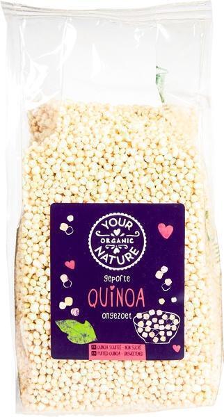 Gepofte quinoa (75g)