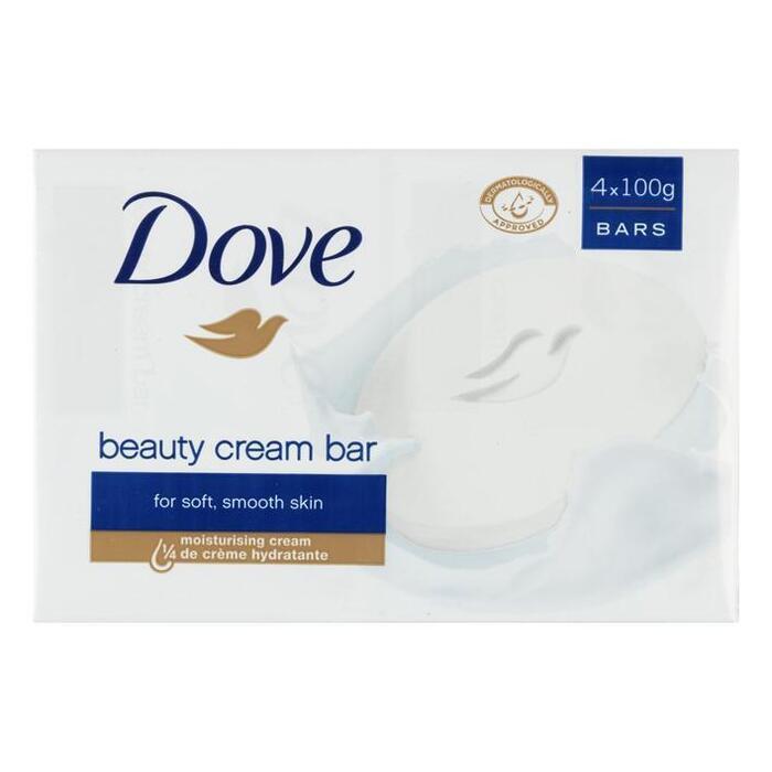 Dove Zeep original (4 × 100g)