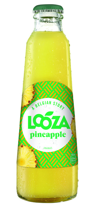 LOOZA VRUCHTENSAP PINEAPPLE 20 CL FLES (200ml)