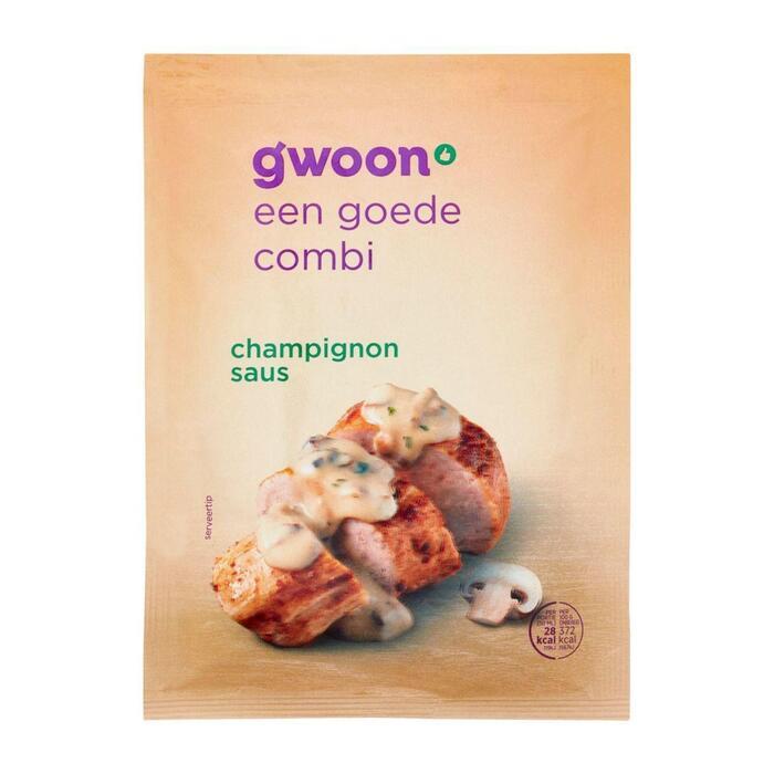 g'woon Mix voor champignonsaus (40g)