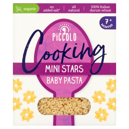 Piccolo Cooking Mini Stars Baby Pasta 7+ Months 500 g (500g)