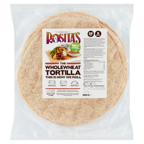 Rosita's Volkoren Tortilla's 6 Stuks (360g)