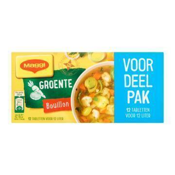 Maggi Groente bouillonblokjes (122g)