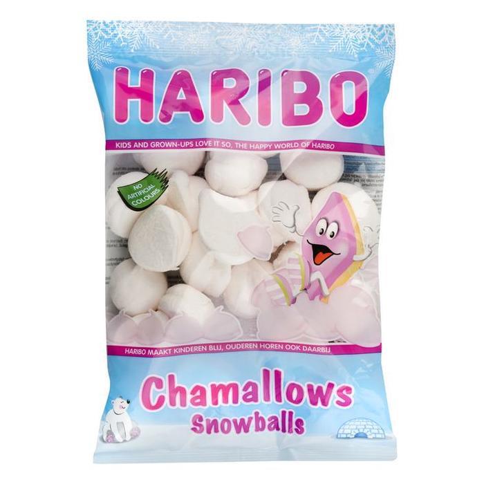 Haribo Haribo Chamallows Snowballs 160 g Chamallows Snowballs 160 g Rek (160g)