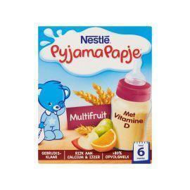 Nestlé Pyjamapapje multifruit 6mnd (2 × 530g)